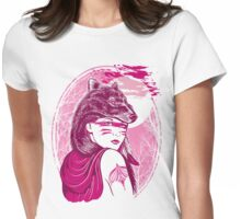 RED RIDING HOOD REVENGE Womens Fitted T-Shirt