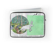 Collage Rabbit Fairy Tale Laptop Sleeve