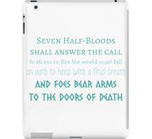 Prophecy of the Seven iPad Case/Skin