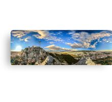 360 degrees of Athens Canvas Print