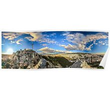 360 degrees of Athens Poster