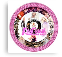 RuPaul's Drag Race collage Canvas Print