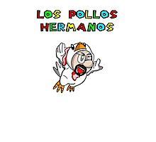 Los Pollos Super Mario Style Photographic Print