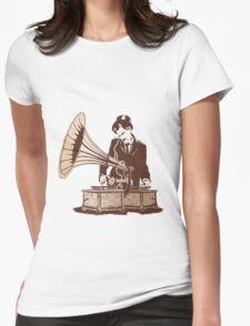 Retro Jam Womens Fitted T-Shirt