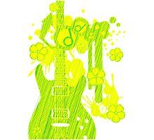 GUITAR-POP TUNES Photographic Print