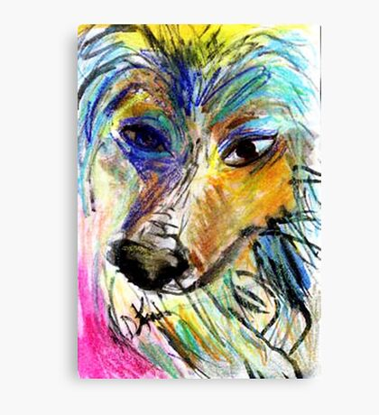 My Pal Plava Canvas Print