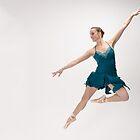 Ballerina Leaping For Joy by Andrew Jones