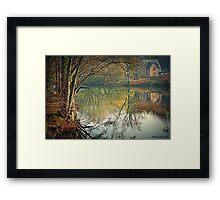 Reflecting Winter Framed Print