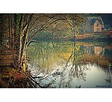 Reflecting Winter Photographic Print