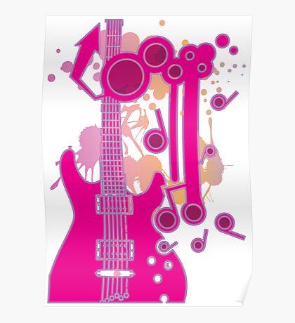 GUITAR-POP TUNES Poster