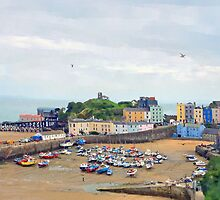 Tenby Harbour by Barry Thomas