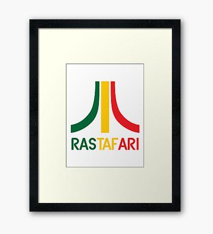 Rasta-Atari Framed Print