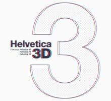 Helvetica 3D by keeble