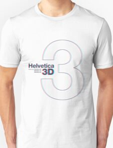 Helvetica 3D T-Shirt