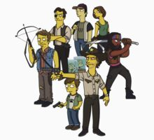 The Walking Dead - Simpsonized 2 by kazkami
