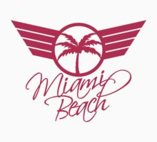 Miami Beach Palm Emblem by Style-O-Mat