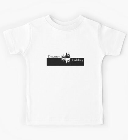 Downton Labbey Kids Tee