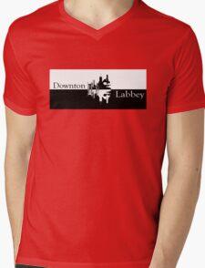 Downton Labbey Mens V-Neck T-Shirt