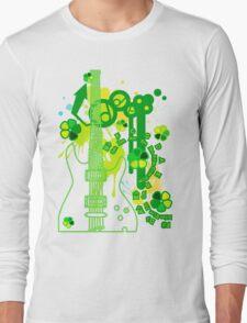 GUITAR-POP TUNES Long Sleeve T-Shirt