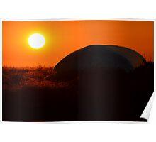 Silo bag Sunset Poster