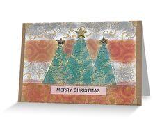 Christmas Pines 2015 Greeting Card