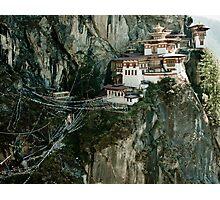 Tiger's Nest Bhutan Photographic Print