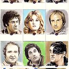 Blakes7 sketchcards by wu-wei