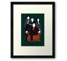 Consulting Detectives - Sherlock/Elementary Framed Print