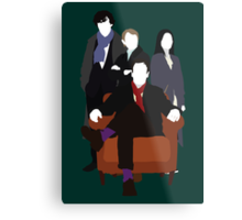 Consulting Detectives - Sherlock/Elementary Metal Print