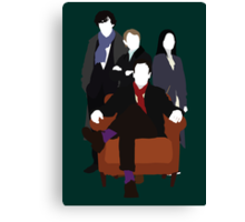 Consulting Detectives - Sherlock/Elementary Canvas Print
