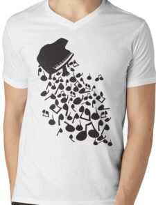 Flabby_Expression Mens V-Neck T-Shirt