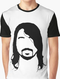 Dave Grohl's Beard Silhouette Graphic T-Shirt