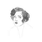 Joan Crawford by Paradoxthis