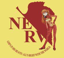 Asuka - Nerv - Neon Genesis Evangelion Kids Clothes