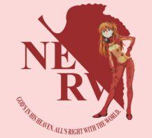 Asuka - Nerv - Neon Genesis Evangelion One Piece - Long Sleeve