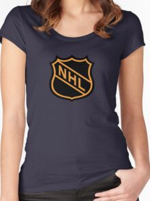 National Hockey League (NHL) Women's Fitted Scoop T-Shirt