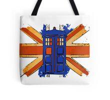 Dr Who - The Tardis - Vintage Jack Tote Bag