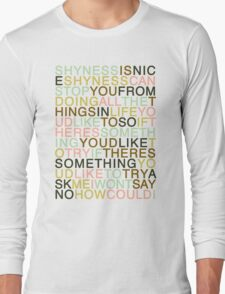 Ask - The Smiths Long Sleeve T-Shirt