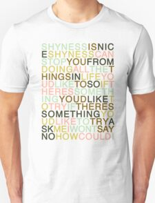 Ask - The Smiths Unisex T-Shirt