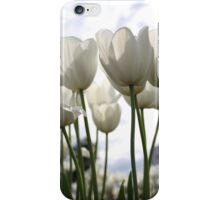 White Tulip iPhone Case/Skin