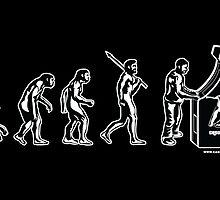 Gamer Evolution Poster by GeekGamer
