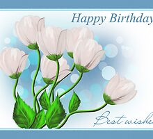 Happy birthday card by Nika Lerman