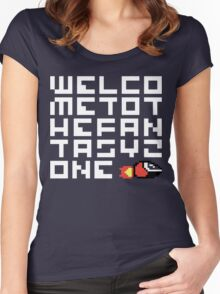 WELCO METOT HEFAN TASYZ ONE Women's Fitted Scoop T-Shirt