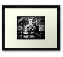 Lost in the Mix Framed Print