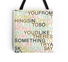 Ask - The Smiths Tote Bag