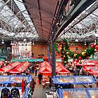 Christmas At Old Spitalfields Market - HDR by Colin J Williams Photography
