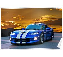 1996 Dodge Viper GTS II Poster