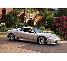 F430 Ferrari Stradale Photographic Print