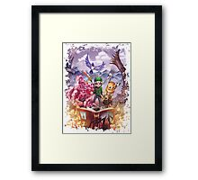 Jays Adventure Framed Print