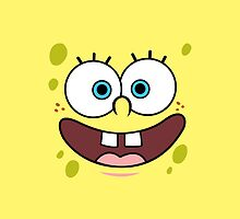 SpongeBob face by TP79